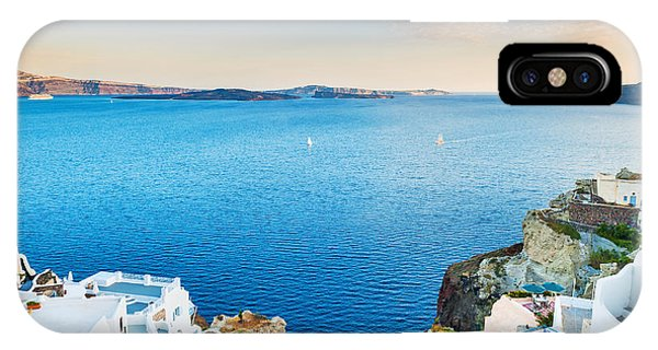 Hotel iPhone Case - Beautiful View Of The Sea And Islands by Olga Gavrilova