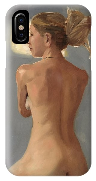 Beauty From Behind IPhone Case