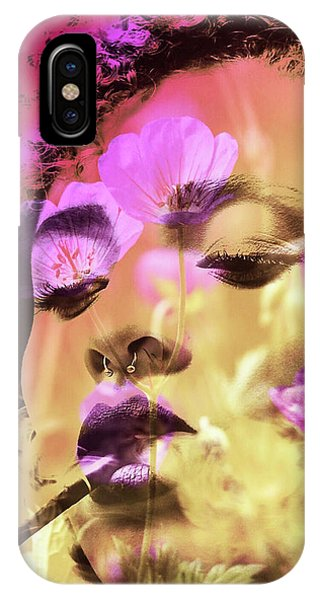 IPhone Case featuring the photograph Beauty Of Defiance by Susan Maxwell Schmidt