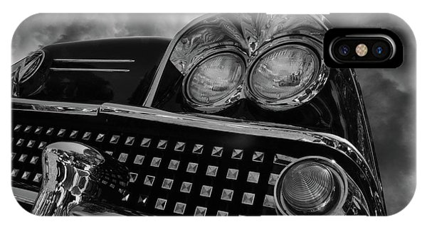 iPhone Case - Chrome Dreams 1958 Buick by Bob Christopher