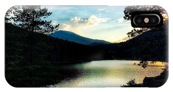 IPhone Case featuring the photograph Beaver Brook Lake by Dan Miller