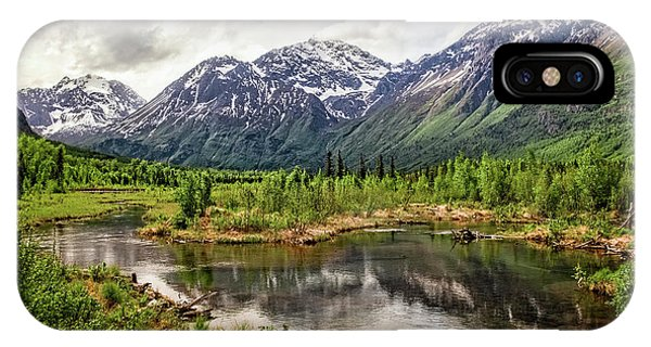 Beaver Pond, Eagle River Ak IPhone Case
