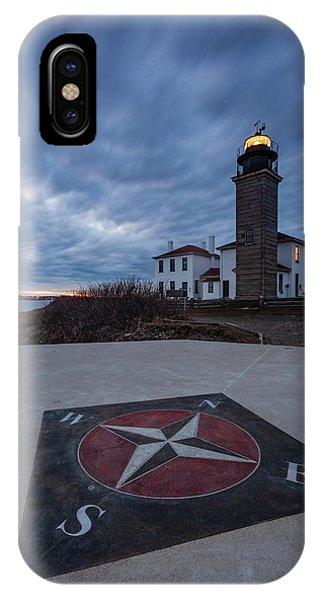 Beavertail Lighthouse IPhone Case