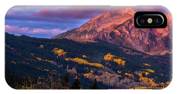 Beckwith At Sunrise IPhone Case