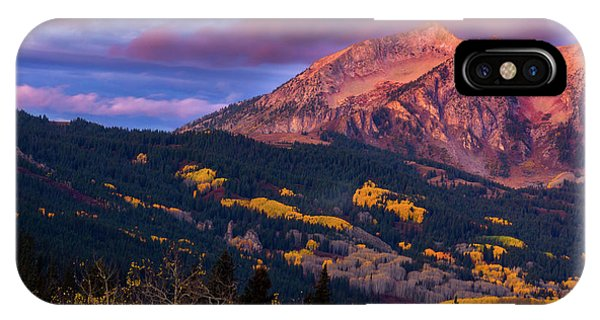 IPhone Case featuring the photograph Beckwith At Sunrise by John De Bord