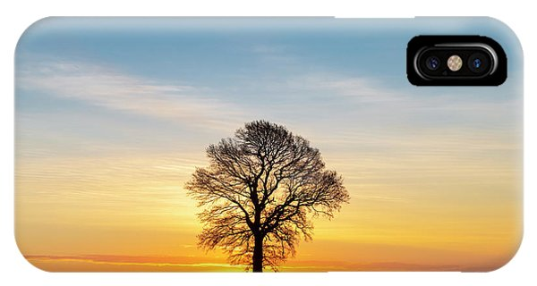 English Countryside iPhone Case - Before Sunrise by Tim Gainey