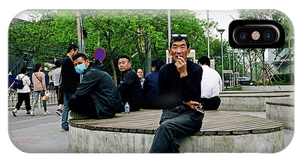 Beijing Street IPhone Case
