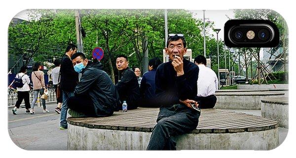 Beijing Street IPhone Case