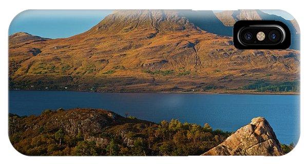 Beinn Alligin And Loch Torridon Phone Case by David Ross