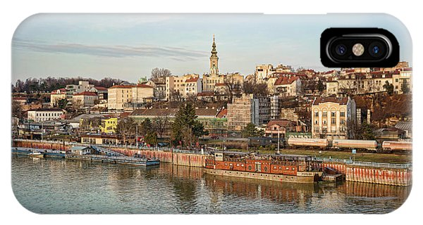 Belgrade Cityscape IPhone Case