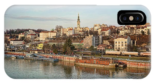 IPhone Case featuring the photograph Belgrade Cityscape by Milan Ljubisavljevic