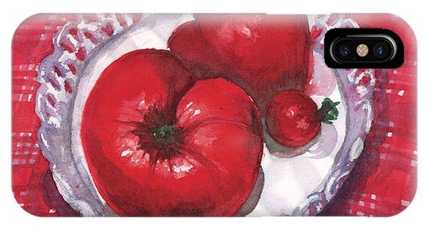 Bella Tomatoes IPhone Case