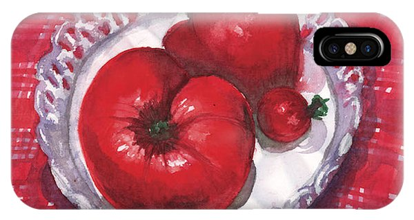 Bella Tomatoes IPhone Case