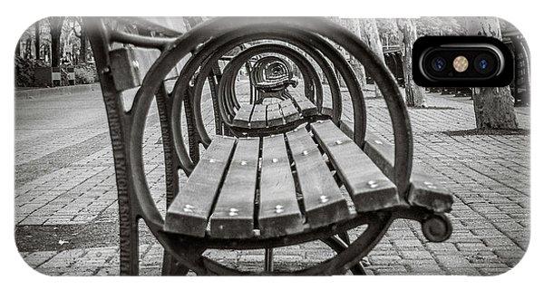 Bench Circles IPhone Case