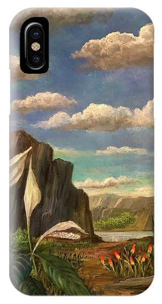 Beneath The Clouds Of Africa IPhone Case