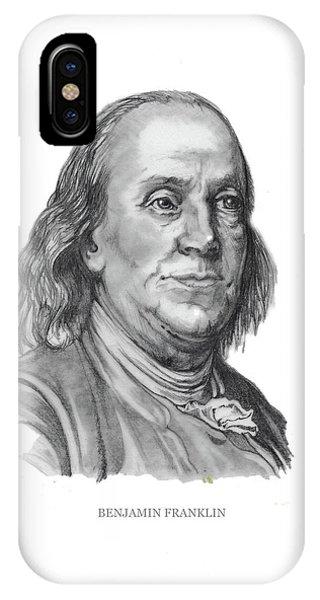 Benjamin Frankline  IPhone Case