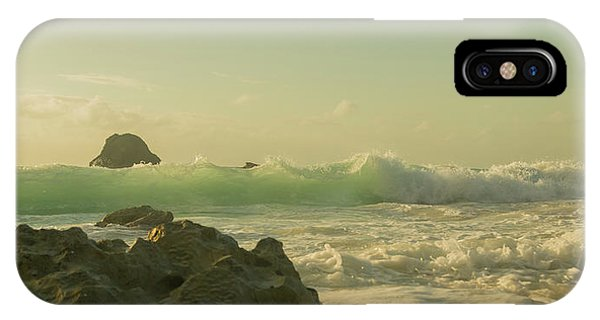 Carribbean iPhone Case - Bermuda Morning Glory Beach by Betsy Knapp