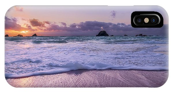 Carribbean iPhone Case - Bermuda Sunrise Welcome To Heaven Crossbay Beach by Betsy Knapp