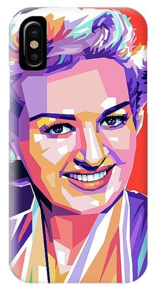 Betty Grable Pop Art IPhone Case