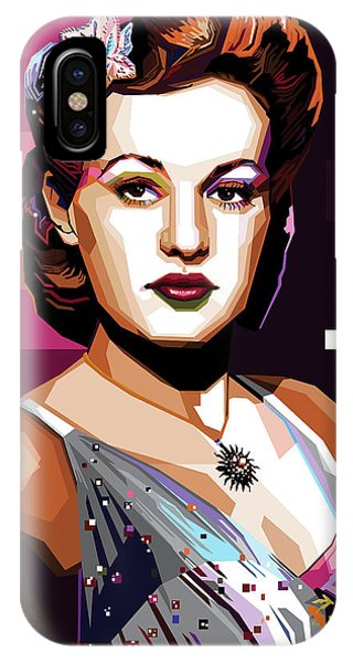 Betty Grable IPhone Case