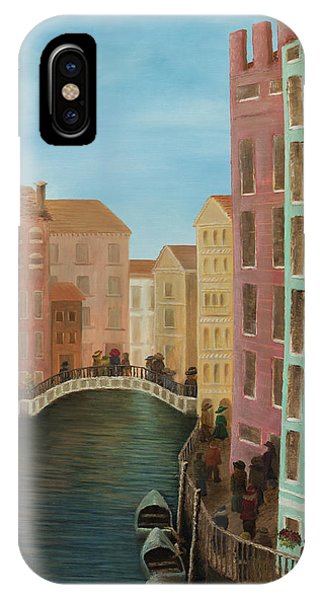 Beyond The Grand Canal IPhone Case