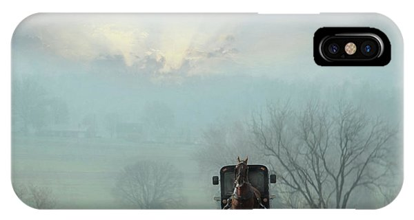 Amish Country iPhone Case - Beyond The Horizon by Lori Deiter