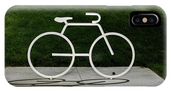 IPhone Case featuring the photograph Bicycle by Randy Scherkenbach