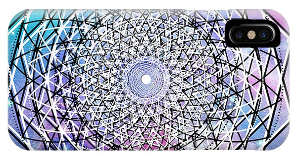 IPhone Case featuring the digital art Big Bang by Bee-Bee Deigner