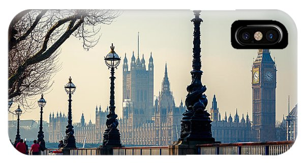Culture iPhone Case - Big Ben And Houses Of Parliament In by S.borisov