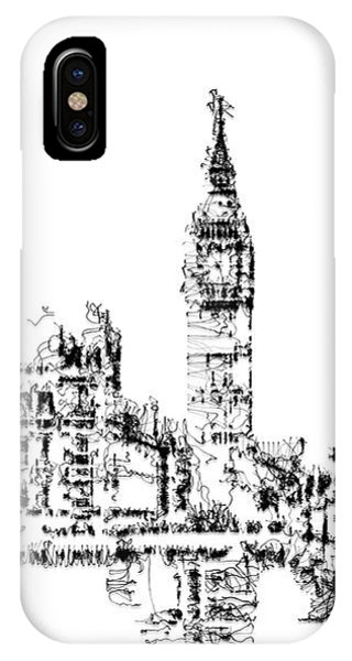 IPhone Case featuring the digital art Big Ben by ISAW Company
