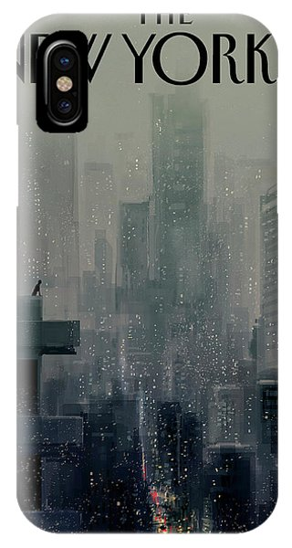 Manhattan Skyline iPhone Case - Big City by Pascal Campion