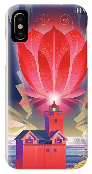Holland iPhone Case - Big Red, Holland Michigan by Garth Glazier