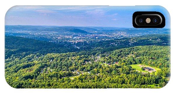 Binghamton Aerial View IPhone Case