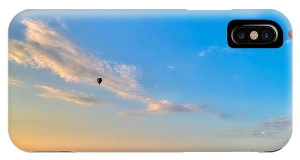 Binghamton Spiedie Festival Air Ballon Launch IPhone Case