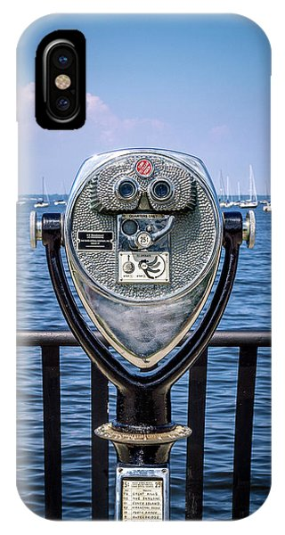 IPhone Case featuring the photograph Binocular Viewer by Steve Stanger