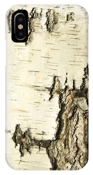 Background iPhone Case - Birch Bark by Aigul Minnibaeva
