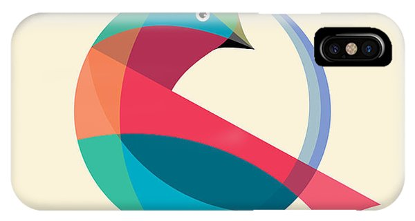 Peace iPhone Case - Bird Abstract Logo Design Vector Design by Art4all