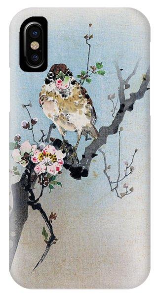Bird And Petal IPhone Case