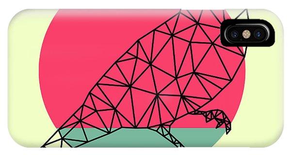 Lynx iPhone Case - Bird And Sunset by Naxart Studio