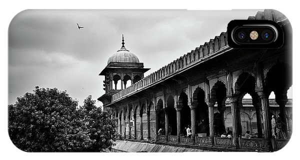 Birds Over The Jama Masjid IPhone Case