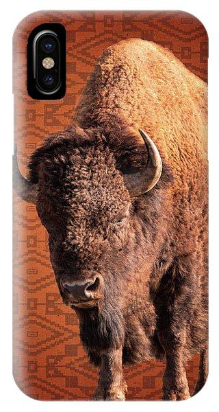Bison Blanket IPhone Case