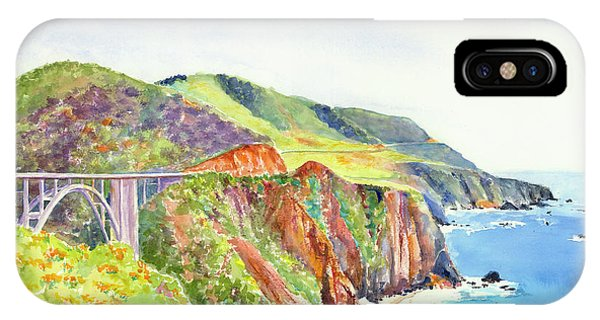 Bixby Bridge 2 Big Sur California Coast IPhone Case