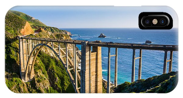 Monterey iPhone Case - Bixby Creek Bridge, In Big Sur by Jon Bilous