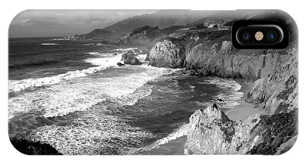 Black And White Big Sur IPhone Case