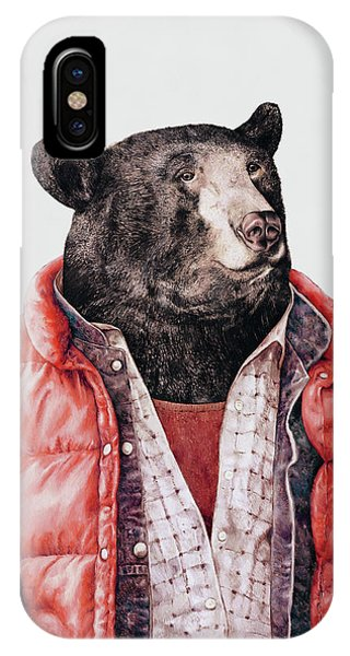Animal iPhone Case - Black Bear by Animal Crew