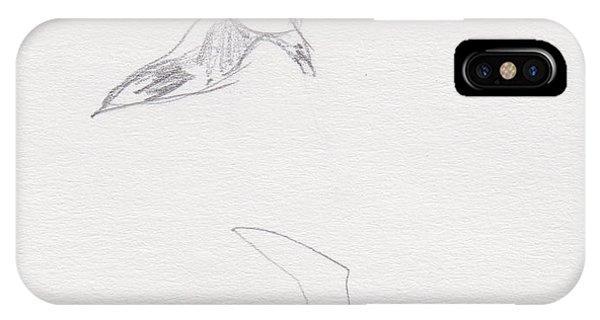 Black-billed Gulls IPhone Case