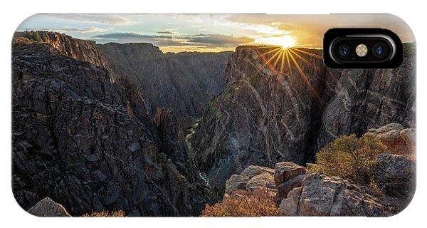 Black Canyon Sendoff IPhone Case