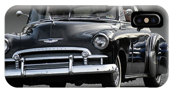 Black Chevy Coupe IPhone Case