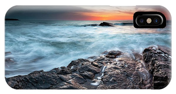 Black Sea Rocks IPhone Case