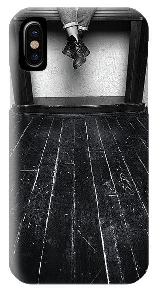 Black Shoes #9397 IPhone Case